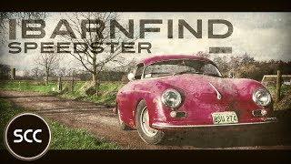 Porsche 356 Speedster 1500s hardtop 1955 BARN FIND 1500 s Engine sound - Drive in top gear