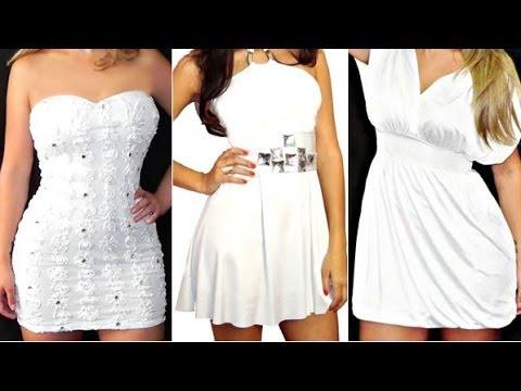 095cd2cec5 PARA MULHERES 50 vestidos brancos para a virada de ano - YouTube