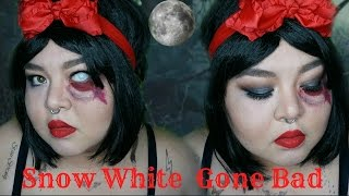 Snow White Gone Bad | Makeup Collaboration  | TAGALOG