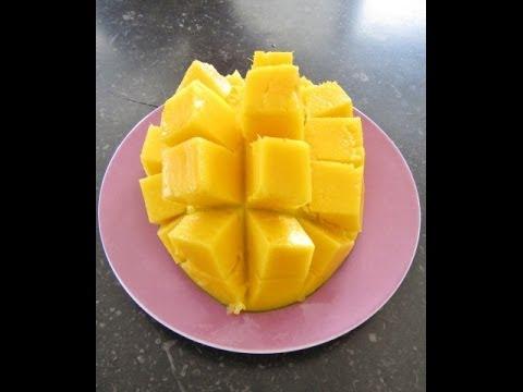 Как подать манго