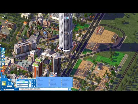 Let's Play SimCity 4: Speedplay Part 3 - New districts and towers |