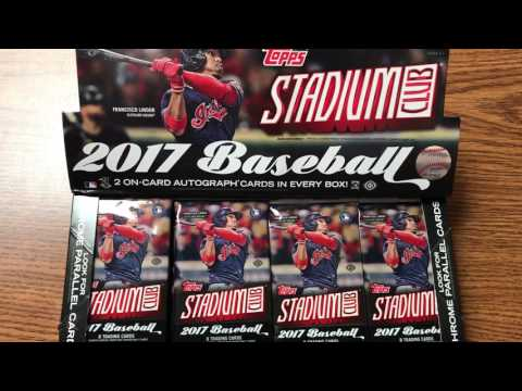 PACK PREVIEW!! 2017 Topps Stadium Club