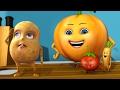 सब्जियों में हो रही है | Hindi Rhymes For Children | Infobells video