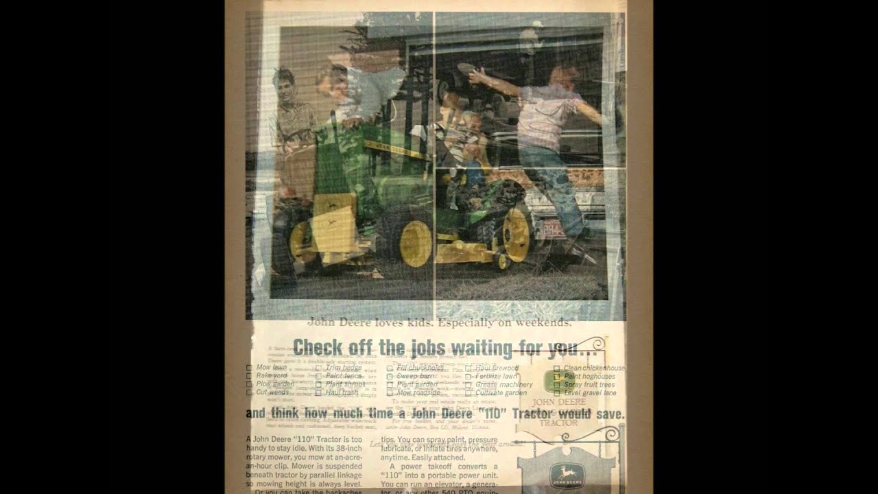 the john deere 110 1963 1967 [ 1280 x 720 Pixel ]