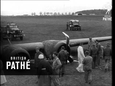 Flying Fortress Crash Landing (1944)