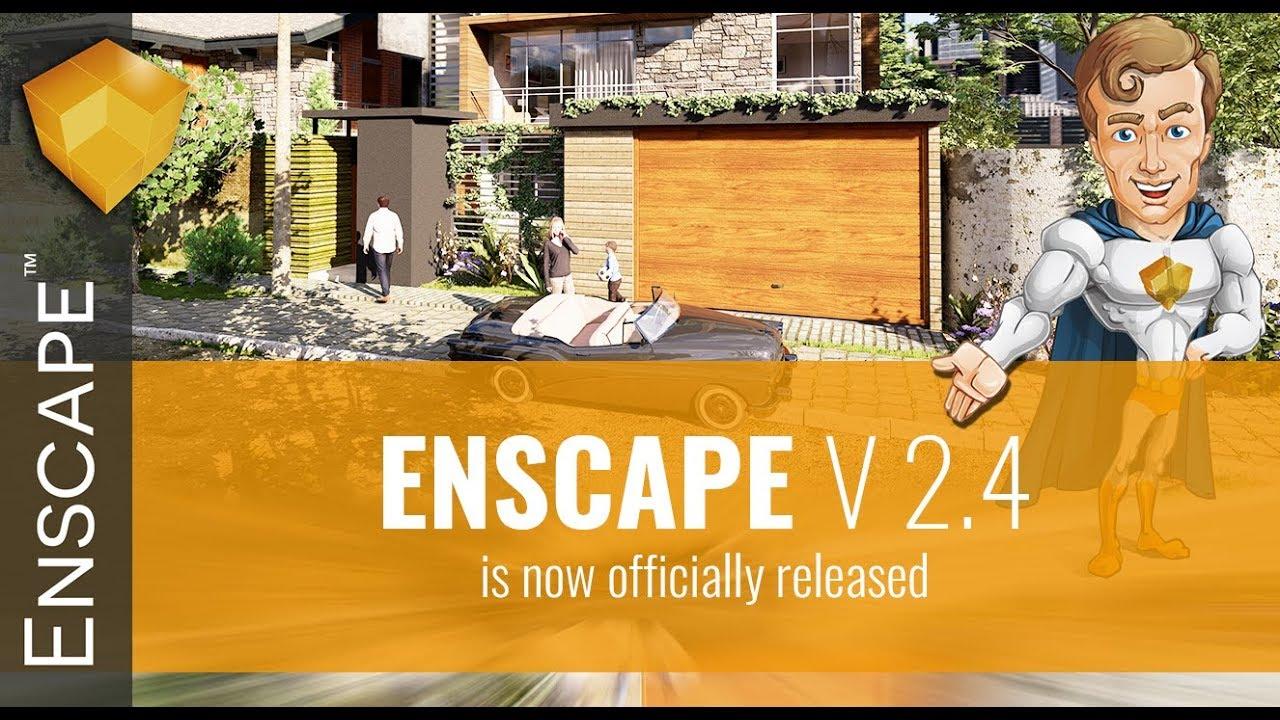 Enscape 2 4: Version Overview