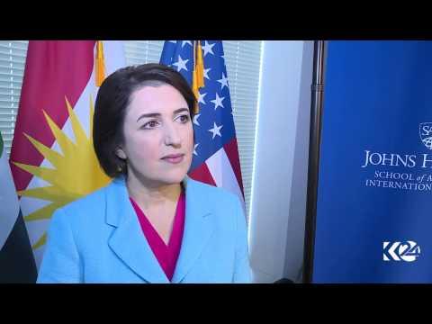 Bayan Sami Abdulrahman, KRG Representative to the US