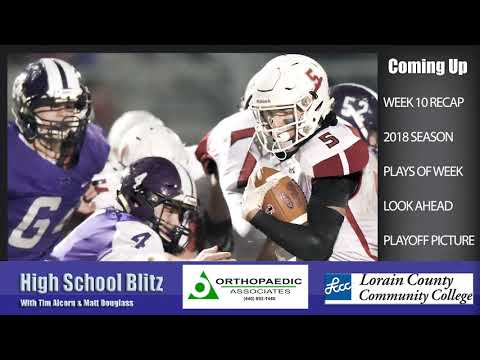 Lorain County High School Football Week 10
