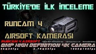 RUNCAM 4 İNCELEME | Türkiye'deki ilk kutu açılımı | Scopecam | 4K ULTRA HD Airsoft camera