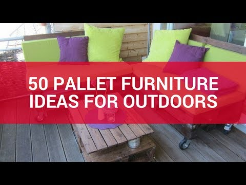 50 Pallet Furniture Ideas For Outdoors