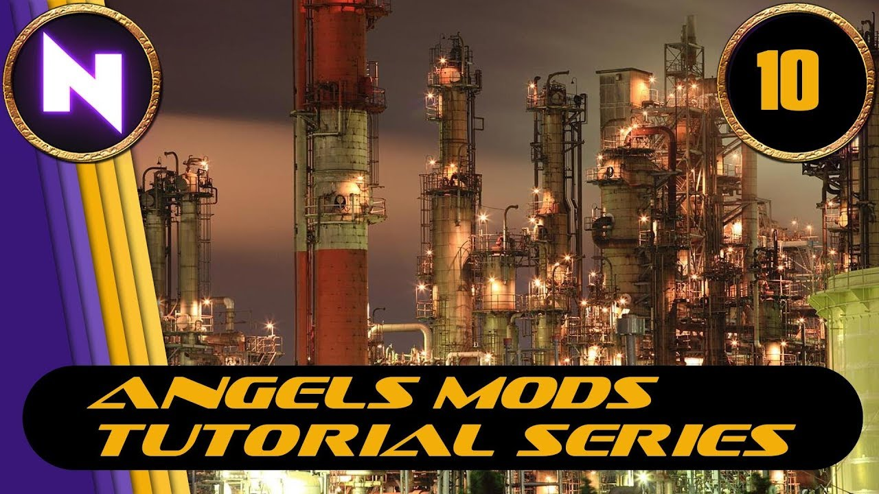 Factorio 0 16 - Angels Mods Tutorial Lets Play #10 EXPANSION