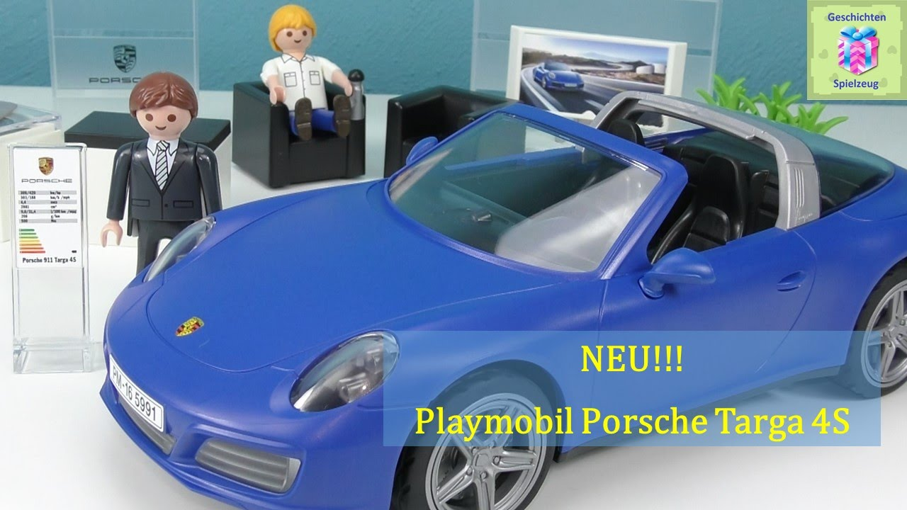 playmobil 5991 porsche 911 targa 4s auspacken playmobil. Black Bedroom Furniture Sets. Home Design Ideas