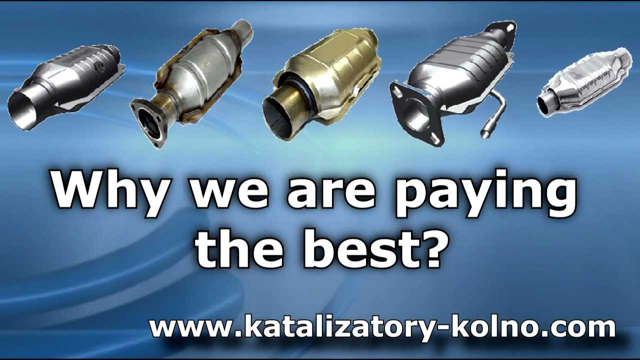 We buy scrap catalytic converters and Monolith - Purchase