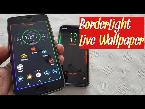 Border Light RGB Lights Live Wallpaper For Most Android