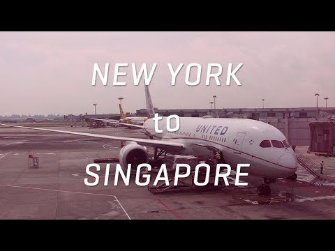 New York to Singapore on a United 777 and 787