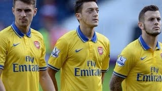 Özil & Ramsey & Wilshere • The Genius of The Triangle