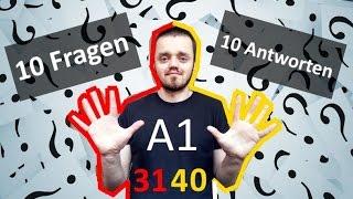 Разговорный немецкий язык, урок 4 (31-40). 10 вопросов - 10 ответов