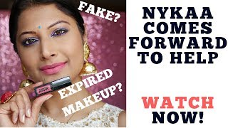 NYKAA CO FOUNDER ANSWERS TO FAKE MAKEUP RUMOURS ,QUALITY CHECK & MORE | NYKAA MAKEUP LATEST 2018