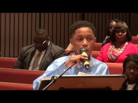 Orangeburg Consolidated School District 5 - MLK Oratory Competition 2017
