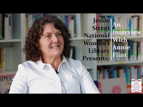 Jessie Street National Women's LIbrary presents : an interview with Annie Flint