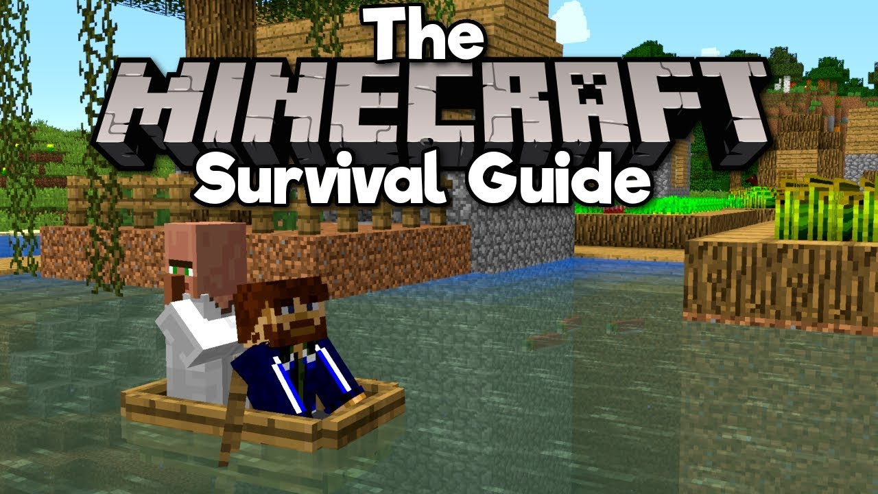 How To Transport Villagers! ▫ The Minecraft Survival Guide (Tutorial Lets Play) [Part 32]