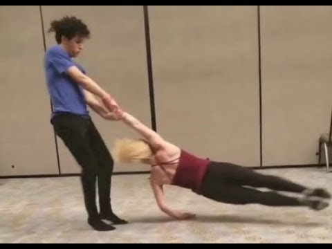 Charity and Andres - Amazing Tricks