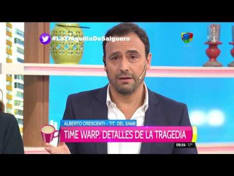 El llanto de Alberto Crescenti: Hay que besar más a los chicos y no ver sus camas vacías