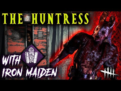 Iron Maiden Huntress! new Legion Perk [#263] Dead by Daylight with HybridPanda