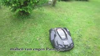 Husqvarna Automower 430X Video 6 Spezielle Funktionen des Gerätes