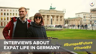 Chance Europe | successful career start in Germany | #Europe4Future #ThankEU