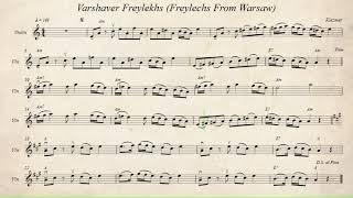 Varshaver Freylekhs (Freylechs From Warsaw)