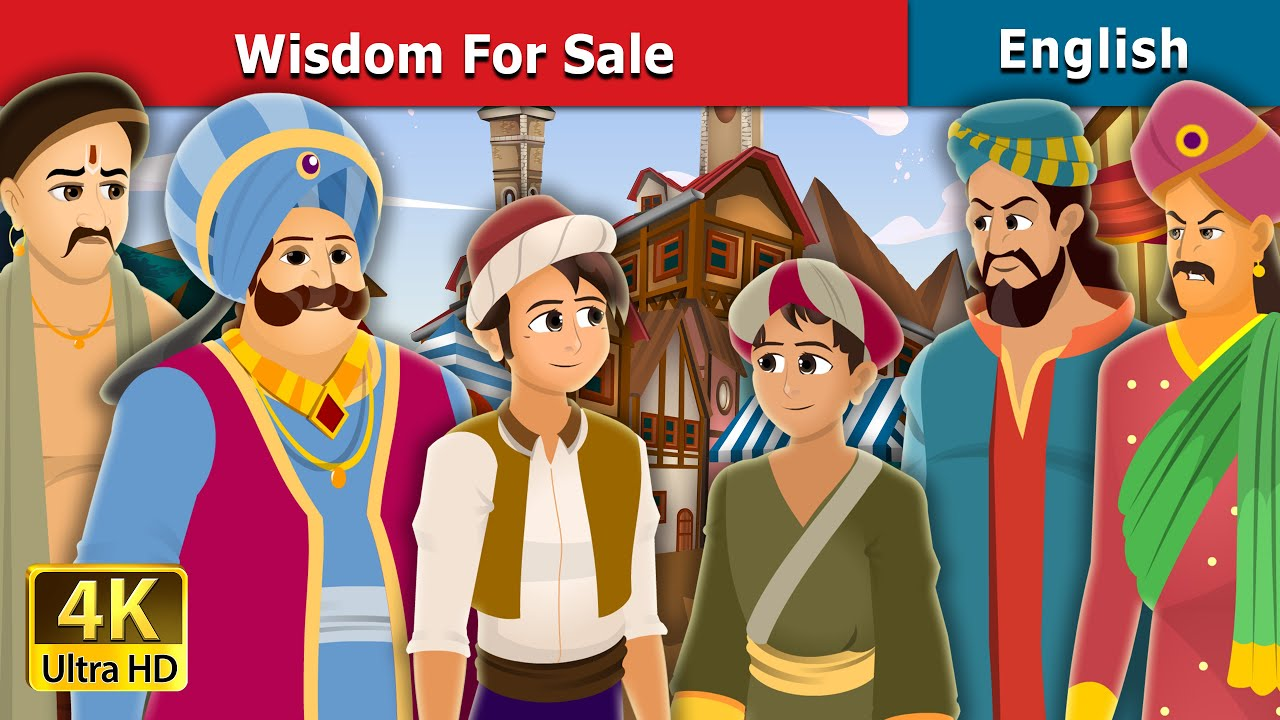 Wisdom For Sale Story in English 🦉 | Stories for Teenagers | English Fairy Tales