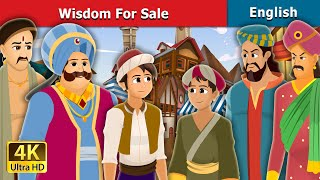 Wisdom For Sale Story in English 🦉   Stories for Teenagers   English Fairy Tales