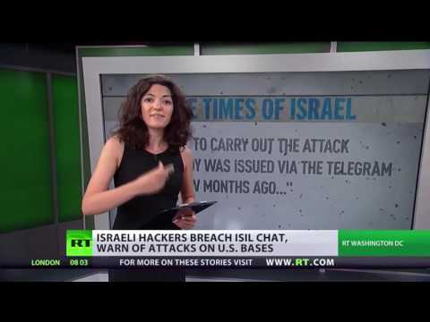 RT News latest Hackers from Israel has hacked IS secret chatroom 5 august 2016