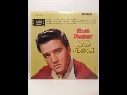 Elvis Presley-King Creole c 1958 in re-processed stereo