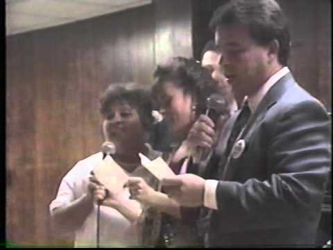1993 Lowell City Council Candidates Karaoke Night