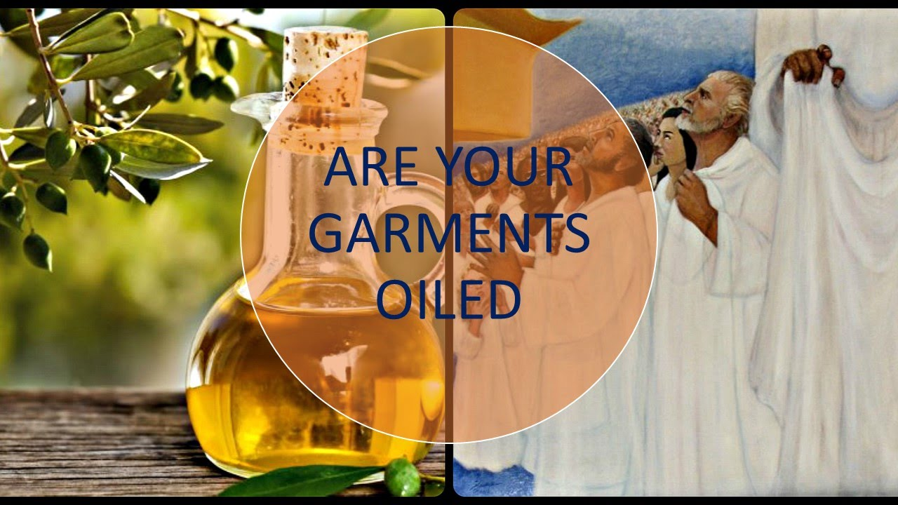 Are Your Garments Oiled