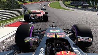 LAST TO ? CHALLENGE - Max Verstappen F1 2017 Belgian GP Challenge