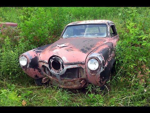 Tennessee Classic Car Junkyard Wrecked Vintage Muscle Cars Youtube