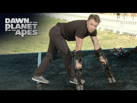 Dawn of the Planet of the Apes | Terry Notary - Apes Movement Demonstration | 20th Century FOX