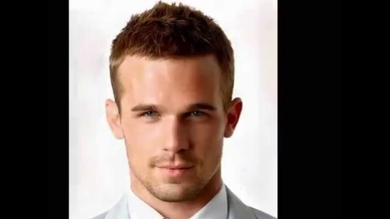 best hairstyle for round face men - youtube