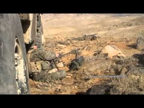 French Foreign Legion In Heavy Fighting Against Taliban During Intense Combat In Afghanistan [2014]