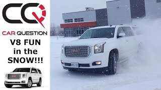 2018 GMC Yukon Denali XL | Diagonal TEST and snow FUN!