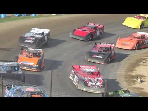 Late Model Feature Race at Crystal Motor Speedway, Michigan on 09-16-2018!