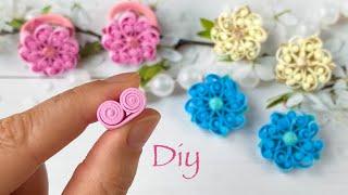 Цветы Из Фоамирана🤩 Смотрите Какие Красивые Получились Резиночки Diy Amazing Flowers Eva Foam Sheet