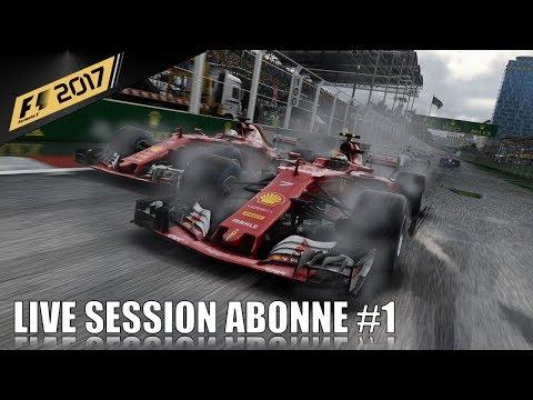 Rediffusion : Live Session abonné sur F1 2017 #1 - J.L Racing