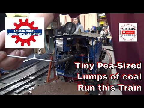 DuB-EnG:London Model Engineering Exhibition 2019 PT1 - Worlds smallest Coal fired Steam Locamotive?