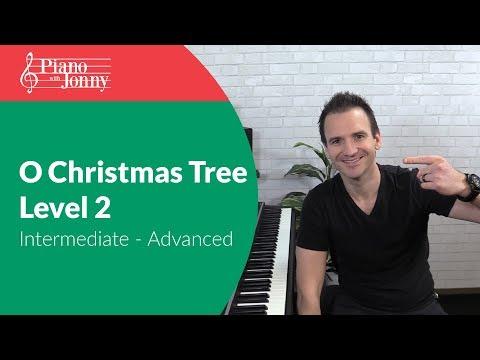O Christmas Tree - Jazz Tutorial for Intermediate & Advanced Piano