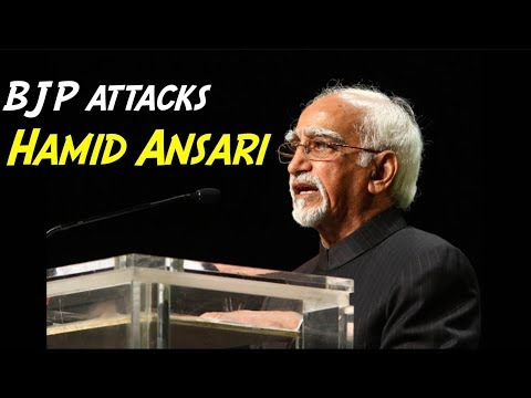 BJP Slams Hamid Ansari