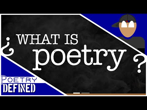 What Is Poetry? #PoetryDefined